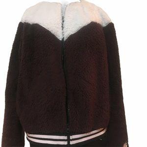 Nike Sherpa Fur jacket size large